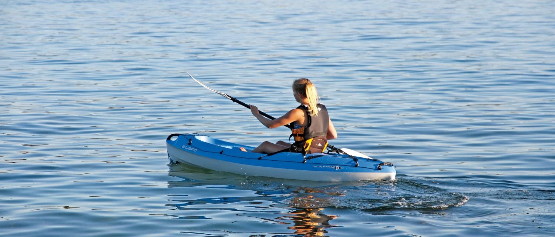 Bic bilbao kayak wild water sports canoes kayaks for Beginner fishing kayak